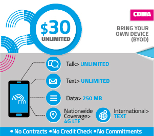 REAL Mobile Unlimited $30.00 Plan