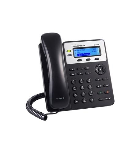 Basic IP phone Grandstream GS-GXP1620 with 3-way conferencing, multi-language support