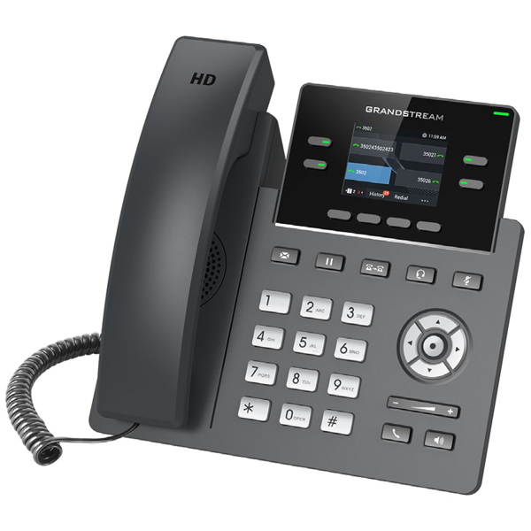 High Definition multi-line WIFI IP Deskset can connect anywhere without wiring