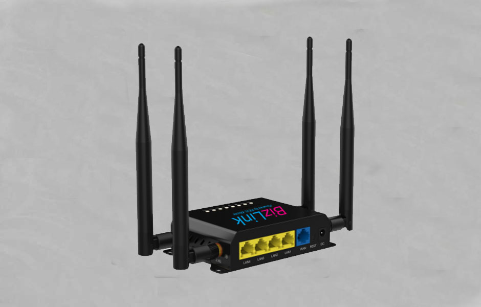 WIFI Network router with LTE cellular connection