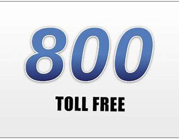 Inbound toll free