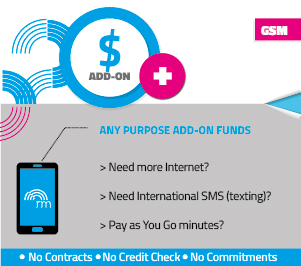 REAL Mobile Add on any purpose funds