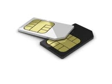 Picture of SIM card for Sprint LTE device