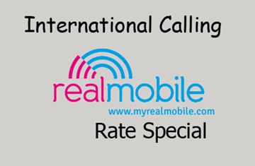 Picture of REAL Mobile - International Rate Special