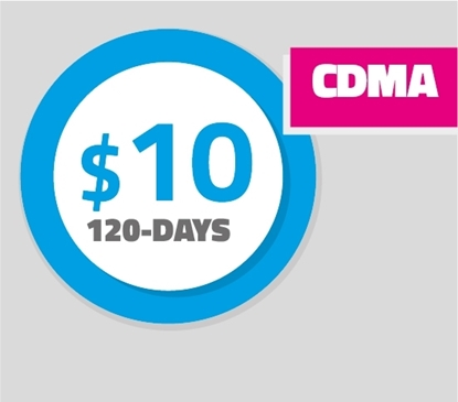 Picture of Pay as You Go Plan - 120 (CDMA)