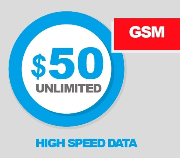 gsm unlimited plan