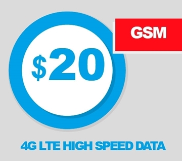 REAL Mobile $20.00 Budget Smart plan with 500mb 4G LTE Data