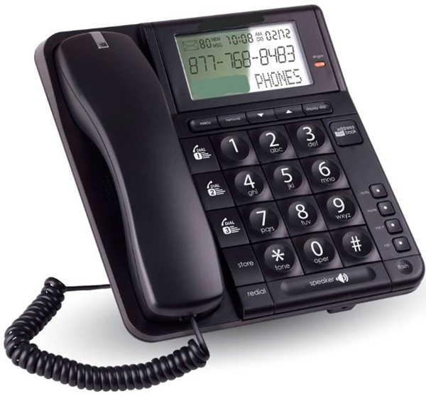 cheap home phone with Big Buttons